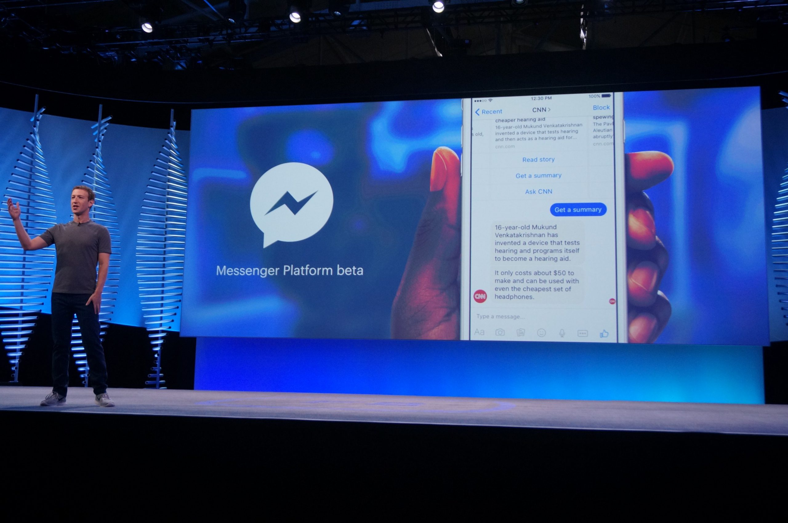 Facebook Messenger Chatbots